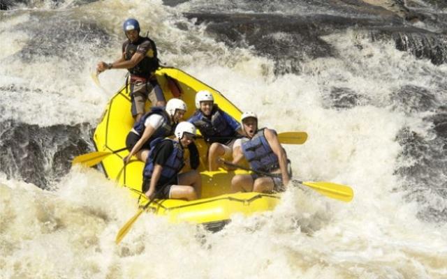 Campeonato Brasileiro de Rafting em Socorro-SP