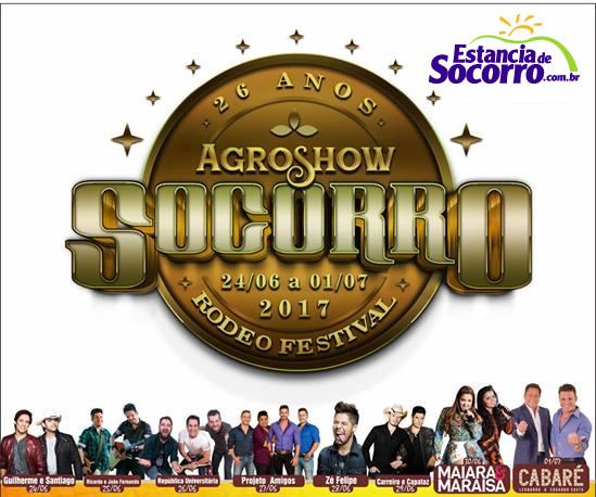 Programação Oficial da Socorro AgroShow