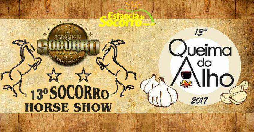13ª Queima do Alho e Socorro Horse Show em Socorro/SP