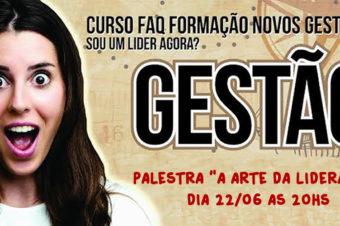 """Palestra """"A Arte da Liderança"""" será realizada em Socorro-SP"""