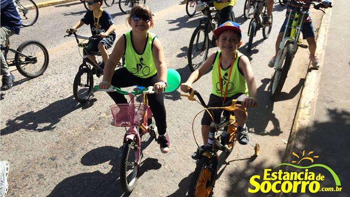 Passeio Ciclístico e Caminhada pela Vida em Socorro/SP