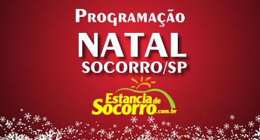 Programação do Natal em Socorro/SP