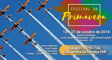 Festival da Primavera em Socorro-SP