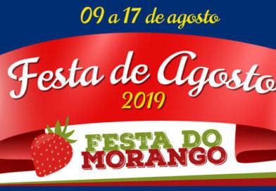 Festa de Agosto e Festa do Morango 2019 em Socorro/SP
