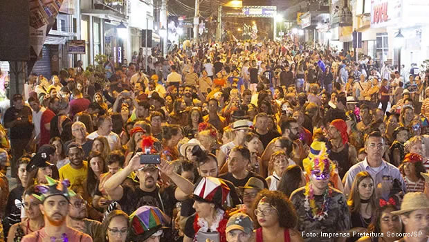 Carnaval 2021 em Socorro/SP é Cancelado